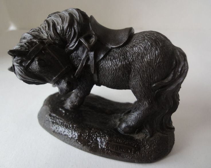 "Frisky Pony by J. Spouse Cold Cast Bronze  3-1/2""x  3""  Signed J. Spouse"