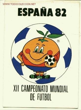 1982 World Cup Finals poster.