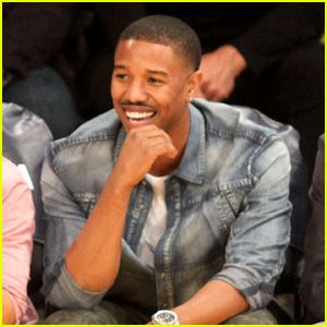 Michael B. Jordan: Courtside Seats at Lakers vs. Kings Game ...