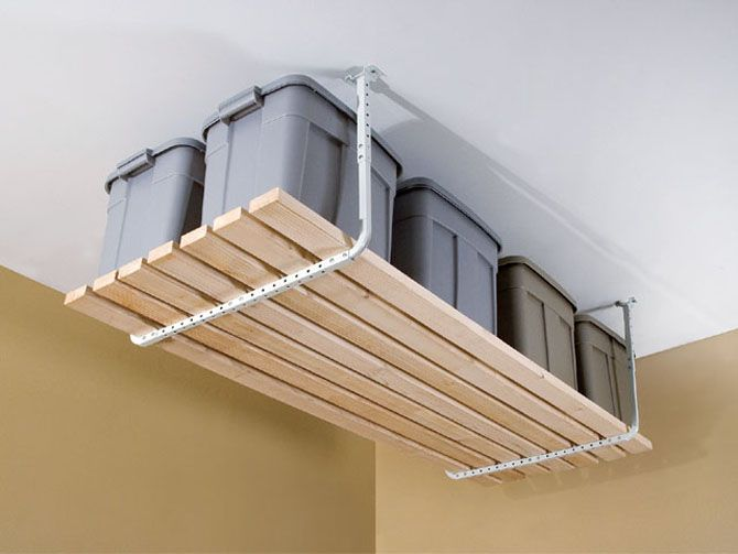 Is Overhead Garage Storage a Wise Decision! If I only had a garage, this would be great.