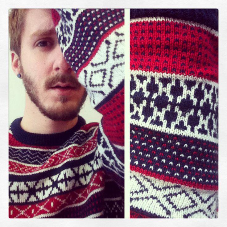#brandnew #red #blue #white #h&m #sweater