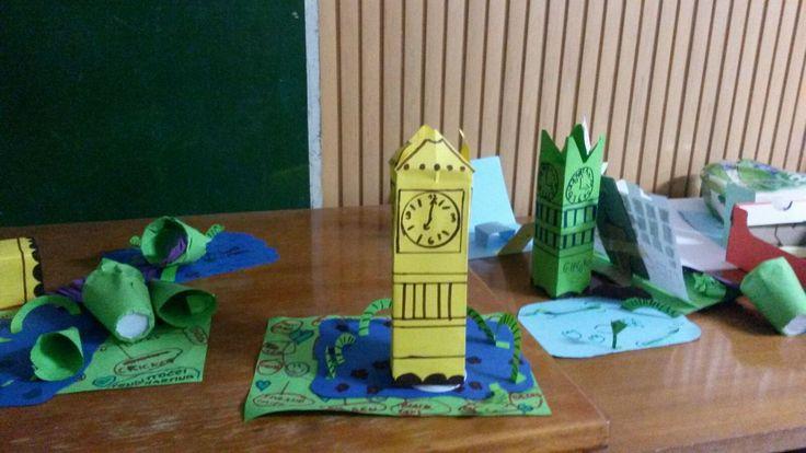 Ecco alcune foto dei prodotti realizzati dai ragazzi di Day Camp durante le attività e le lezioni di inglese (Associazione sportiva A.P.D. La Salle - Roma)