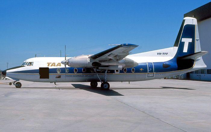 Trans Australian Airlines Fokker F 27-100 (VH-TFF)