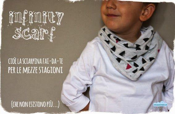 Infinity scarf: la sciarpa da bimbo fai-da-te per le mezze stagioni