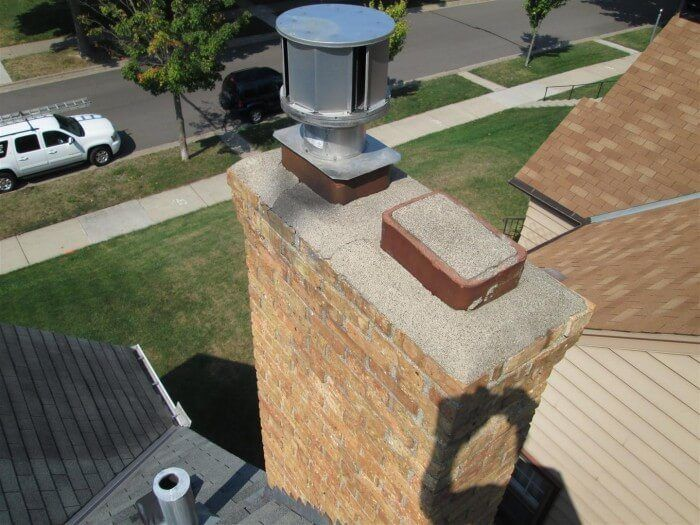 Q A Why Does Water Leak Through The Bottom Of My Chimney Plate Design Sheet Metal Roofing Metal Roof