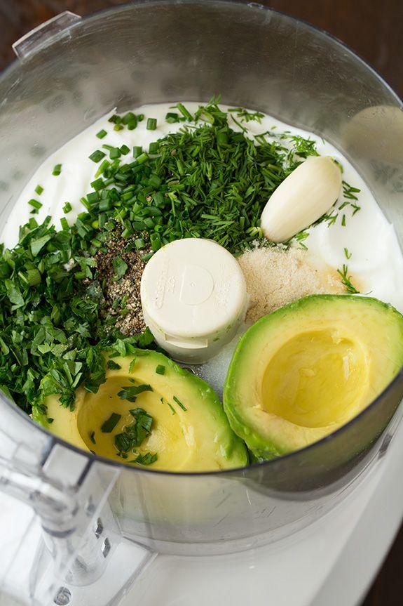 Aguacate yogur griego preparación del rancho |  cocinar con clase