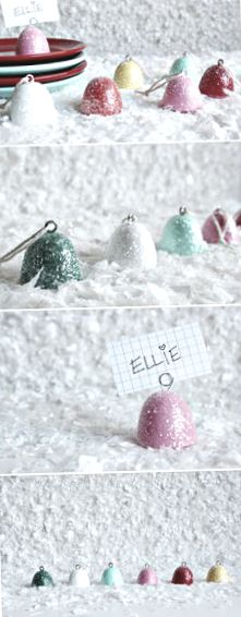 Christmas ● DIY ● Tutorial ● Glittery Gumdrop Ornaments