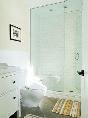Master Bathroom.  Passive Solar Design | Sustainable Building | Solares Architecture