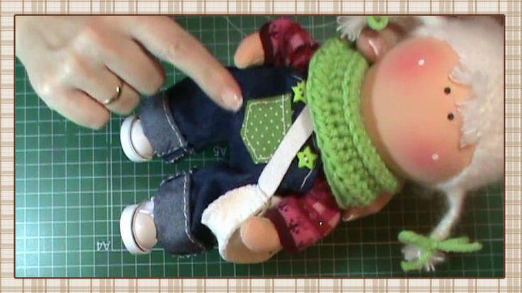Tutorial Renata: jersey y calcetines
