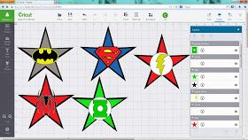 Crafting with Meek: Super Hero Logo's SVG's