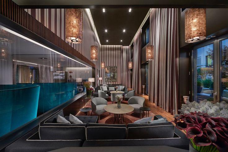 60 mejores im genes sobre restaurantes y hoteles en for Hoteles diseno milan