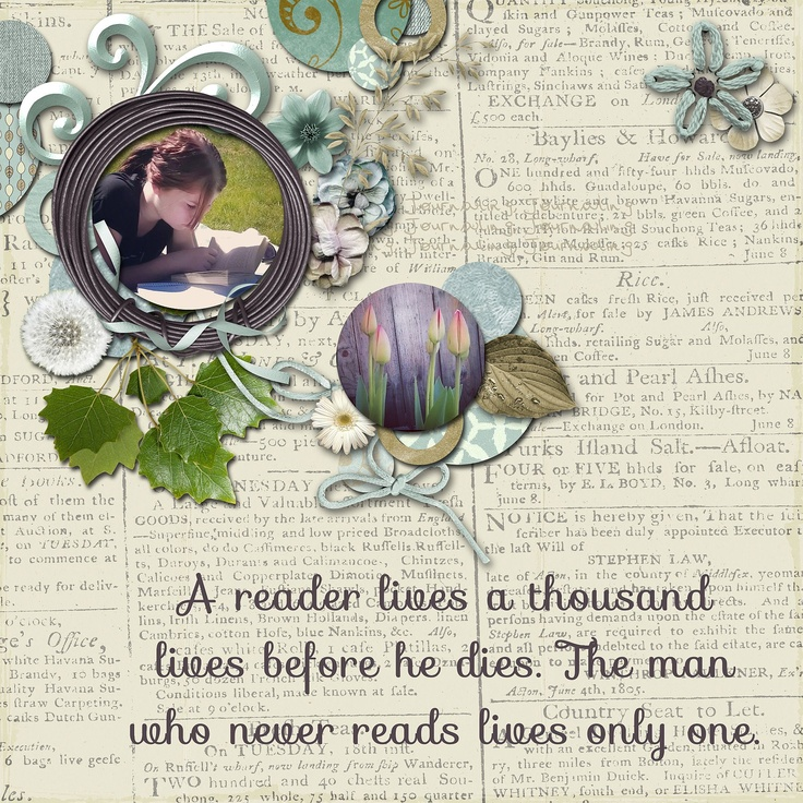 E läser