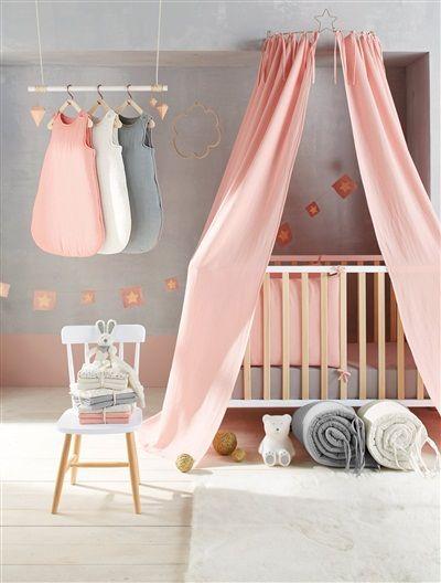 25 beste idee n over ciel de lit b b op pinterest kindje hoekje tente enfant en roze - Bebe deco slaapkamer ...