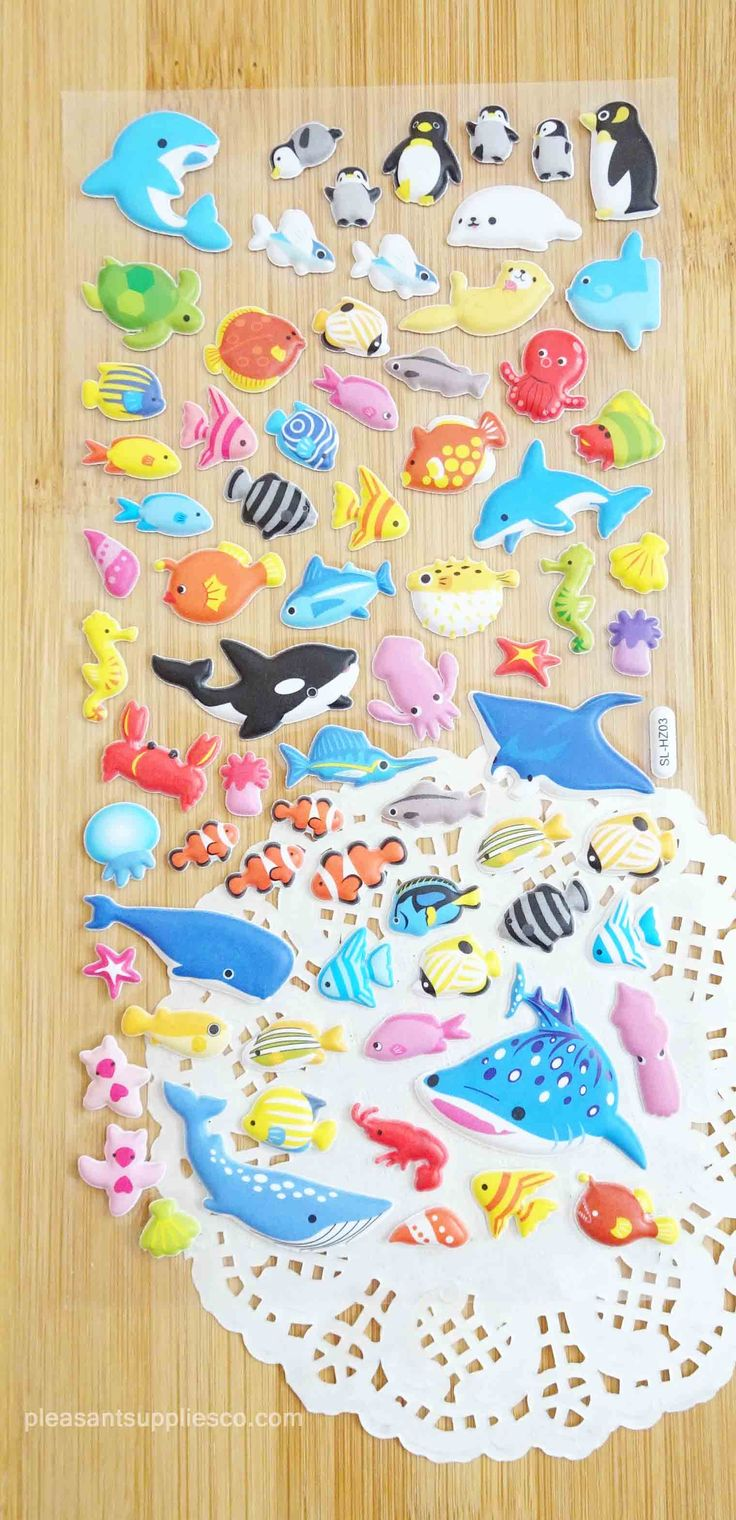 Under the Sea Stickers for Planners & Scrapbook