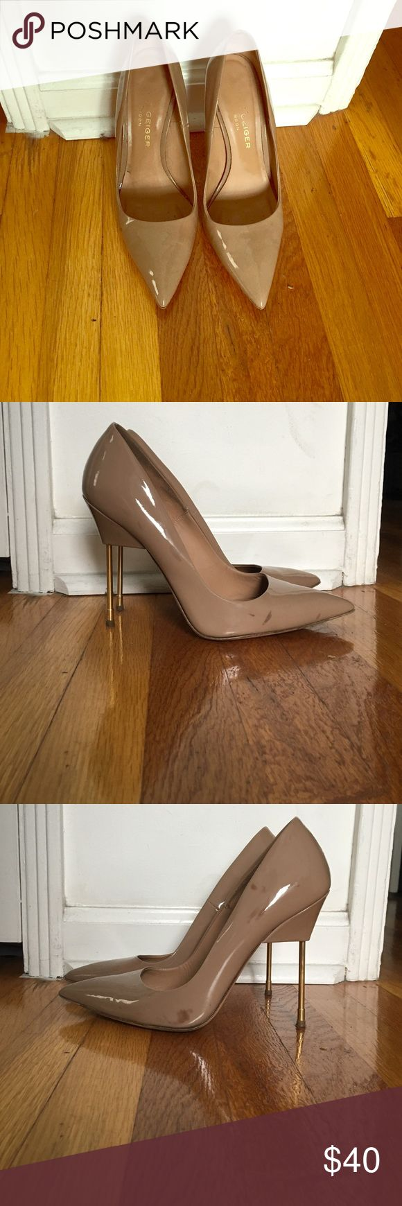 Kurt Geiger London pumps Made in Italy - size 40 EU. Fits like 9 US. Few marks as shown in photos kurt geiger Shoes Heels