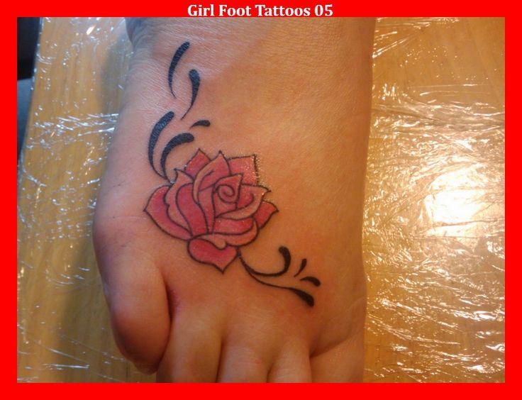 Girl Foot Tattoos 05