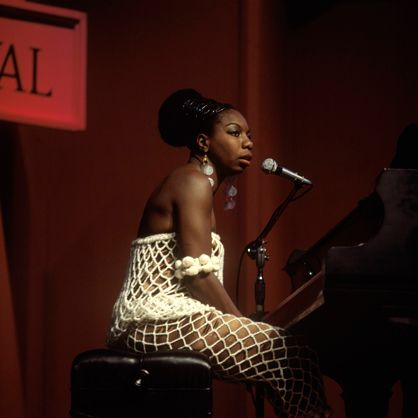 Classical pianist and singer Nina Simone revolutionized American  jazz.  In search of a more racially equitable music scene and culture -  and to  avoid unpaid taxes - Simone traveled to Liberia, Switzerland,  and  Barbados before settling in the South of France in 1992. She lived  in  Aix-en-Provence until her death in 2003. (Redferns)