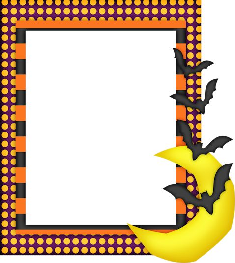 40 best halloween fall frames borders images on pinterest rh pinterest com halloween border clipart halloween pumpkin borders clip art