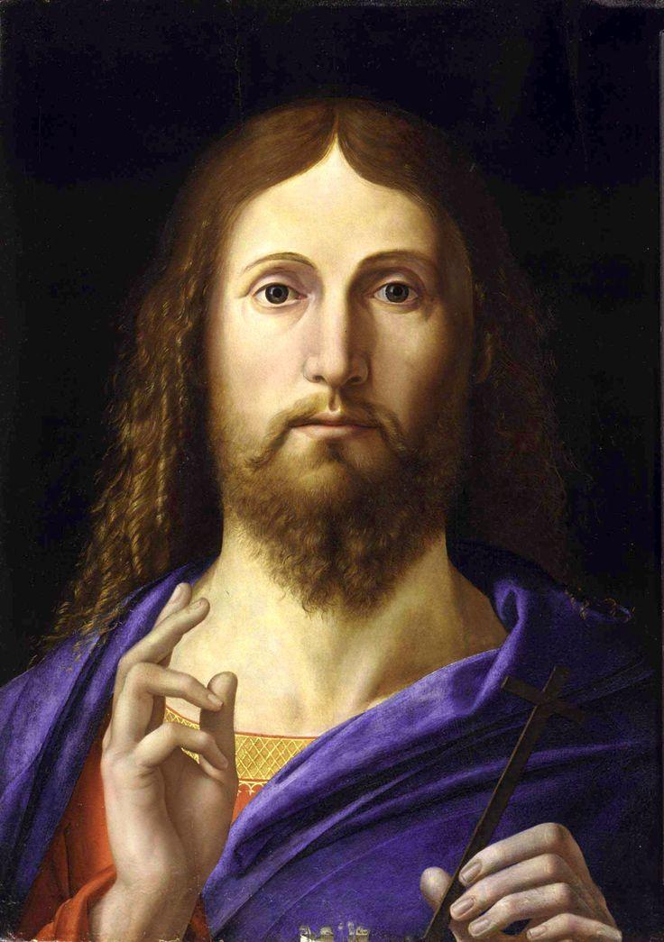Salvator Mundi, par Alvise Vivarini (~1494-98)