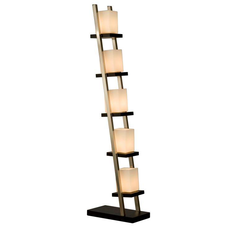 29 best paper lights images on pinterest floor standing lamps nova of california escalier floor lamp brown shade glass mozeypictures Images