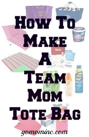It is time to get that team mom tote bag organized so you have what you need no matter where you are.