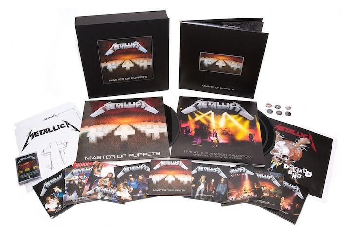 Metallica's landmark third album Master of Puppets will be reissued in multiple formats on their own Blackened Recordings on 10 November 2017.