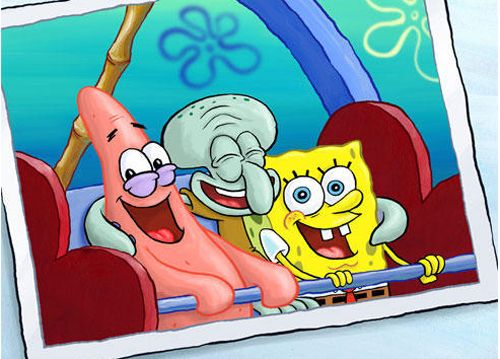 Sponge bob, Patrick, and Squidward!!!