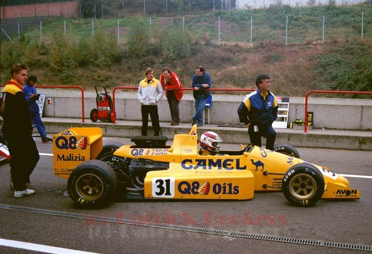 Paolo Barilla - Reynard 88D Cosworth DFV/Smith - Eddie Jordan Racing - Zolder - 1988 FIA Formula 3000 International Championship, round 10 - © Patrick Beckers