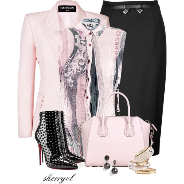 Louboutin Spiked Shoes Contest, created by sherryvl on Polyvore