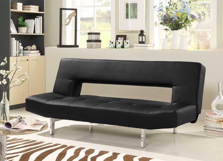 homelegance drake elegant lounger sofa bed   black bi cast price   364 00 19 best the futon not just for college dorms anymore  images on      rh   pinterest