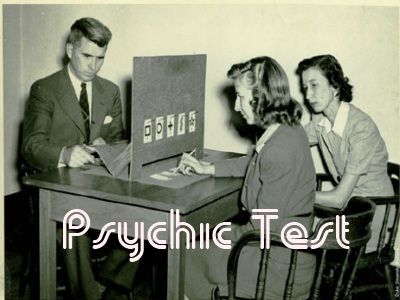 Besides reading the articles that describe psychic abilities to check how many abilities you own, doing psychic tests on Psychic Test site is another way to confirm the result. Psychic Test is the site providing tests and games to measure the level of your psychic abilities.