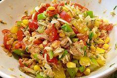 Thunfisch – Mais – Salat, mexikanisch