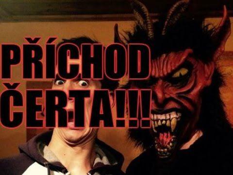 PŘÍCHOD ČERTA!!! - YouTube