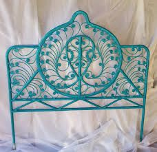 Image result for turquoise headboard