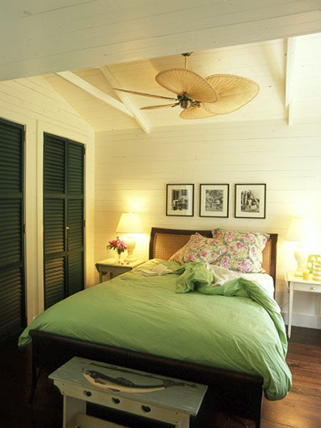 love this island style ceiling fan