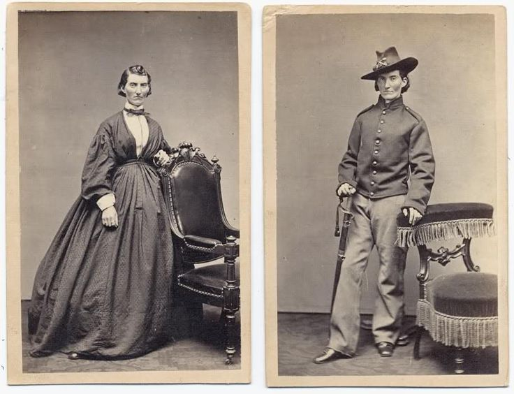 Francis Clayton disguised herself as a man and fought in the Civil War. She was found out only after being wounded.