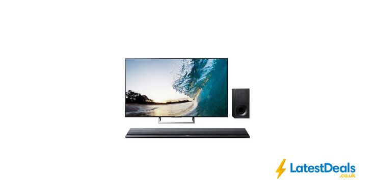 "SONY BRAVIA 55"" Smart 4K Ultra HD TV & Wireless Sound Bar Bundle, £899 at Currys PC World"