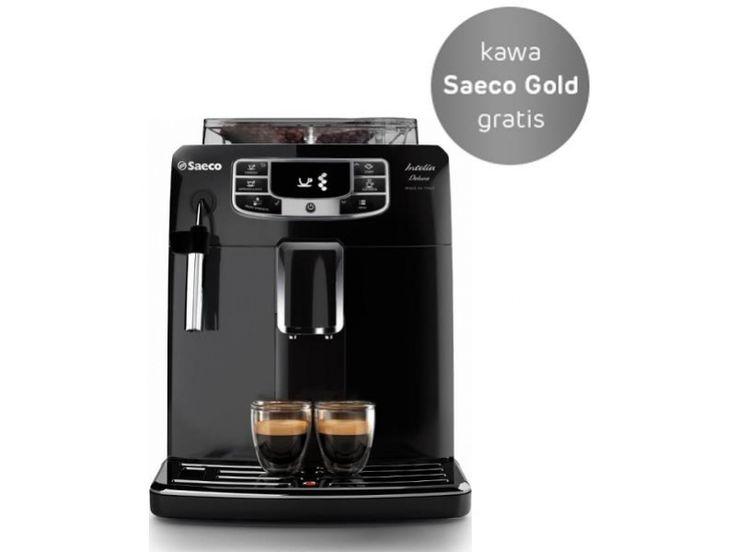 Saeco Intelia Deluxe HD8902/01 1850W 15bar czarny-295230 - Zdjęcie 1