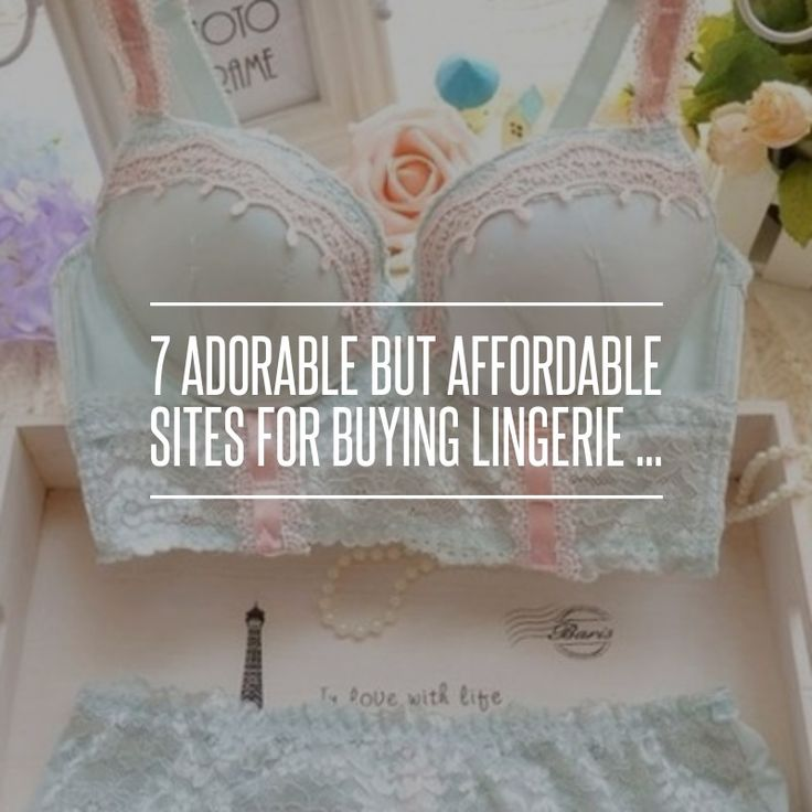 7. 10 Dollar Mall - 7 Adorable but Affordable Sites for Buying Lingerie ... → Fashion
