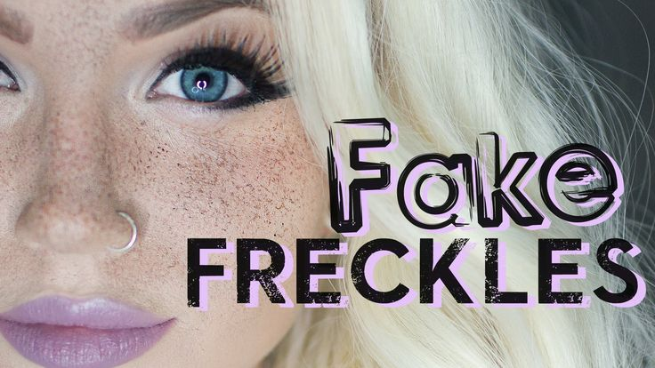 A quick trick to getting natural looking freckles, without having to draw them on one by one. Products you need/could use: A black stipple sponge (google it ...