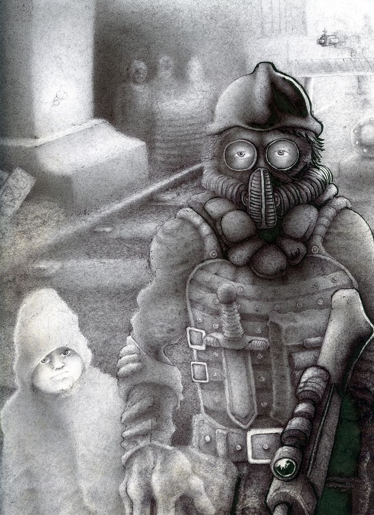 Inspired by Metro Last Light and Fallout3 games, this drawing was made with ballpointpen from late August 2015 to October 30th 2015.  If you like the drawing, please visit www.facebook.com/ericzonecom and click 'like'.  http://ericzone.deviantart.com/art/Metro-2033-Fallout-Shelter-569739870  https://ericzone.artstation.com/portfolio/metro-2033-fallout-shelter-2015