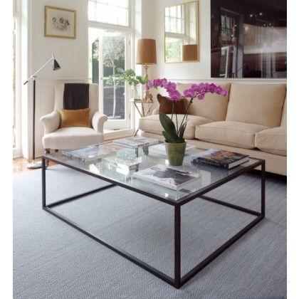 Alexandra Robinson Large Glass Coffee Table