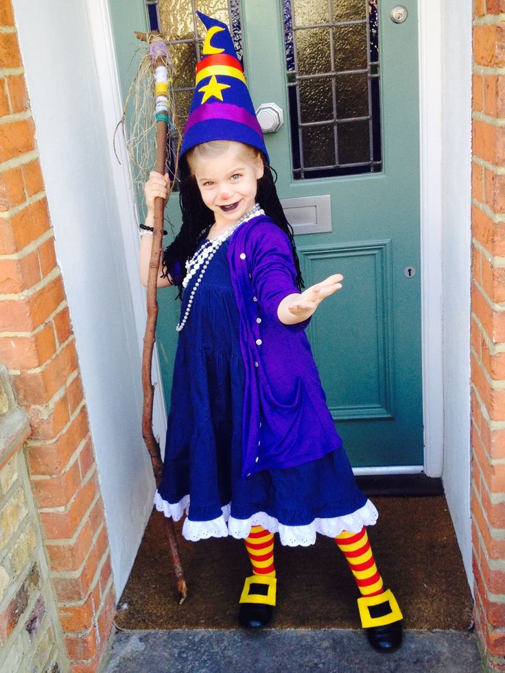 Winnie The Witch Costume For World Book Day 2015 B Day