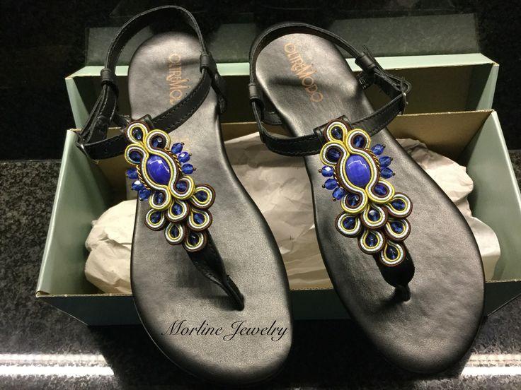 Morline Jewelry  Sandali con applicazione in soutache