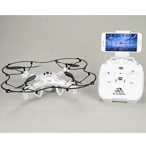 Drone 108W Caméra HD – Wifi – 6 Canaux – Headless Mode – En direct Live sur Ecran Iphone ou Android – Rotation flip: Contrôle à distance:…