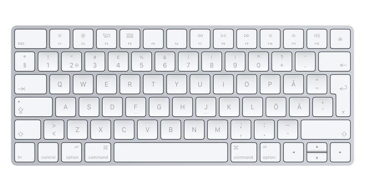 Nya Magic Keyboard är trådlöst och laddningsbart, med en mer slimmad utformning och en ny design som gör tangenterna stabilare.