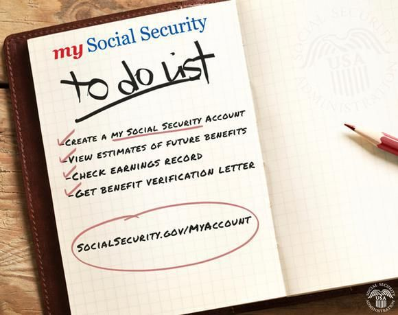 43 best My Social Security images on Pinterest Social security - social security change of address form