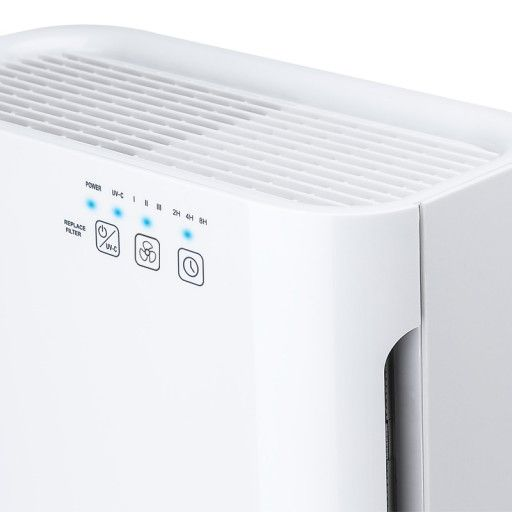 Ionmax Breeze ION420  Easy-to-use Controls Touch panel on the front of the unit make controlling the air purifier a breeze.