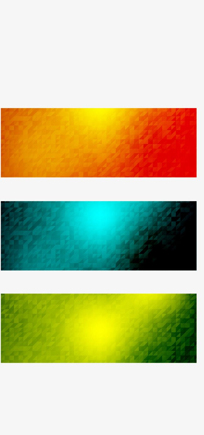3 color mosaic banner vector, Cross Standard, Mosaic, Halo PNG and Vector