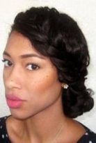 54 Trendy Wedding Hairstyles Natural Hair Black African Americans
